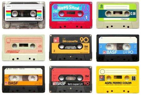 Cassettes magnétiques