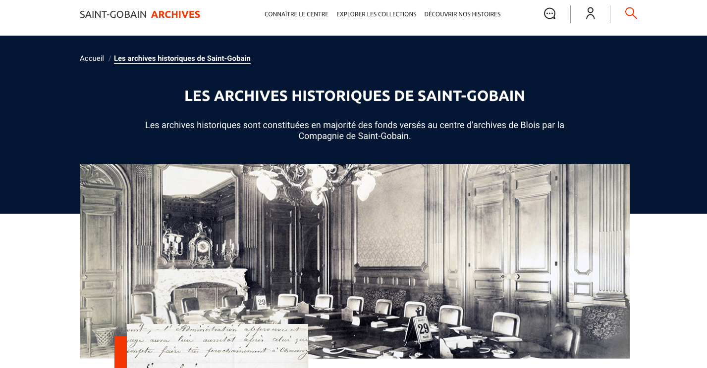 Archives Saint-Gobain
